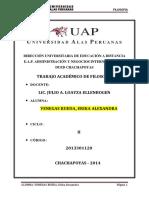 Ta– Ani Filo Chachapoyas Erika Venegas