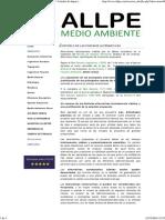 ALLPE Medio Ambiente - Consultoría Ambiental _ Estudio de Impacto Ambiental - ESTUDIO de LAS POSIBLES ALTERNATIVAS