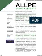 ALLPE Medio Ambiente - Consultoría Ambiental _ Estudio de Impacto Ambiental - IDENTIFICACIÓN Y VALORACIÓN de IMPACTOS