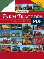 Legendary Farm Tractors a Photographic History