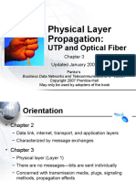 UTP and Optical Fiber