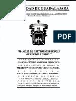 Manual de Gastroenterologia de Perros y gatos