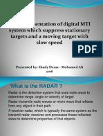 MTI Radar