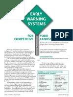 Early Warning System (Alessandro Comai and Joaquín Tena 2007)