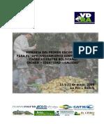 Diagnostico Del Cacao en Bolivia