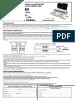 Balasto de Emergencia Autonomo ATOMLUX Permanente y No Permanente Modelo 1605 1606