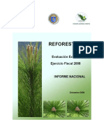 CONAFOR Evaluacion Reforestacion Informe Nacional 2008