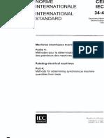 IEC 34-4-1985-Rotating Electrical Machine