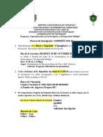 Instructivo Proceso de Inscripción 2016-II