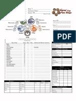 L5R - Character Sheet