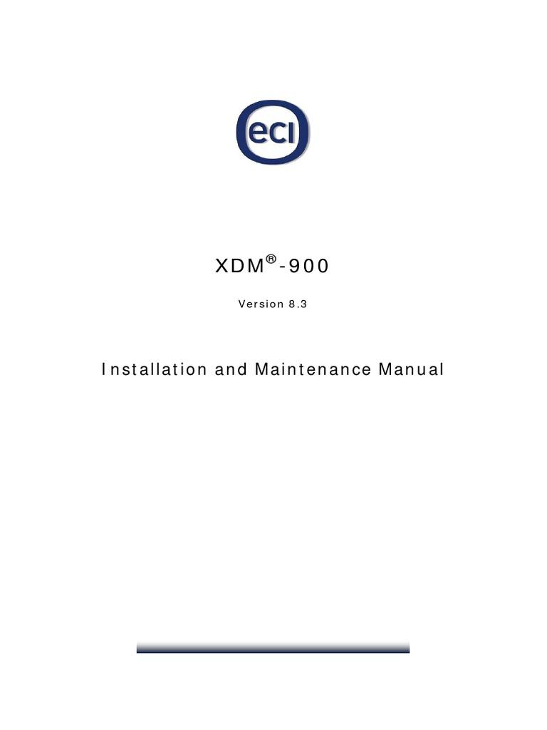 XDM-900_IMM_ETSI_A02_8.3_en   Electrical Connector   Copyright