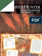 Monster Hunter Illustrations Vol.1