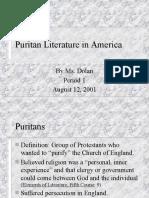 Puritanism in North America