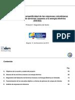 Diagnóstico de La Competitividad de Las Empresas Colombianas