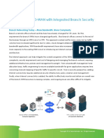 The Benefits of SD WAN With Integrated Branch Security
