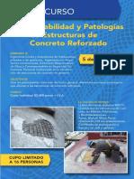 Durabilidad y Patologías de Estructuras de Concreto Reforzado (IMCYC) - Programa del Curso (2).pdf