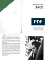 Dossier on Kumar Shahani
