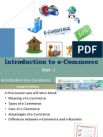 #5 Intro to ecom I