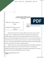 Amiga Inc v. Hyperion VOF - Document No. 103