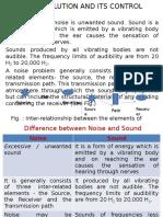 Module v EVS101 Noise Pollution