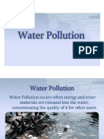 Module-V EVS101 Water Pollution