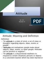 BS 101 - Module 4 - Attitude Final Lecture (tamo)