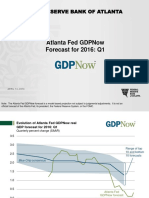 Real Gdp Tracking Slides