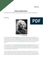Teoria Da Relatividade_ a Obra Maior de Albert Einstein Completa 100 Anos _ Ciência _ EL PAÍS Brasil