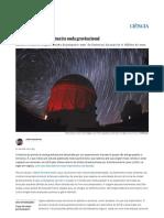 Biografia Íntima Da Primeira Onda Gravitacional _ Ciência _ EL PAÍS Brasil