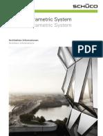Ainfo Schueco Parametric System Data