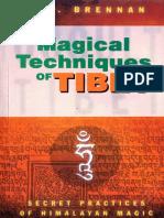 Brennan Magical Techniques of Tibet