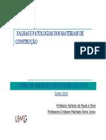 Falhas e Patologias dos Materiais de Construção (UFMG 2016) - Apresentação. Adriano de Paula e Silva & Cristiane Machado Parisi Janov (157).pdf
