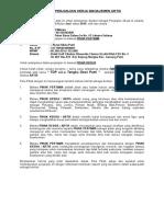 Perjanjian Kerjasama LEVEL NINE Dan TDP a.k.a Tengku Dewi Putri