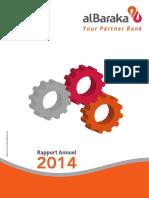 Albaraka Bank Algeria Annual 2014
