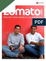 Zomato Brand Profile