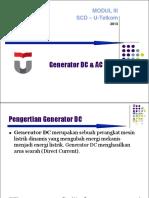 Prinsip Kerja Generator DC AC