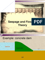 Final Seepage and Flow Net Theory
