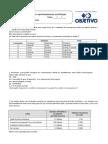 Atividades de revisão e aprofundamento em Biologia AULA 1