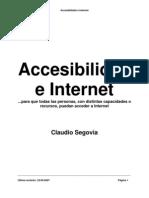 Accesibilidad e Internet