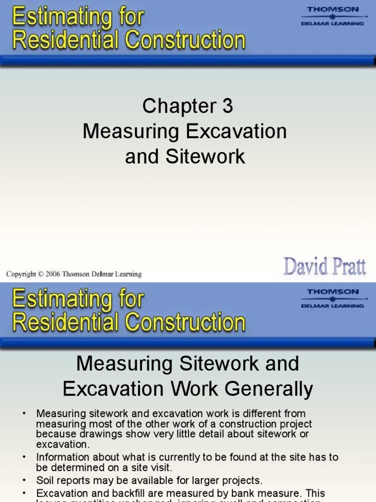 Chapter-3 | Volume | Excavation (Archaeology)