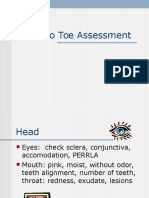 Head to Toe Assessment.ppt
