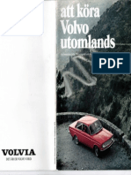 At Volvo Küra Utomlands.
