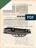 New Amazon Motor 1961