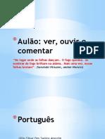 Aula de Português