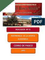 Pertinencia Oferta Acad2016