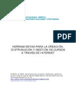 Herramientas Para La Creacion_distribucion y Gestion de Cursos en Internet
