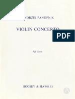 Panufnik - Violin Concerto