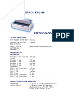 EPSON FX-2180 {Matrix Printer}