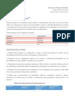 Rúbrica oralidad - Castro y Palma