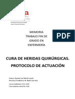 CURA DE HERIDAS